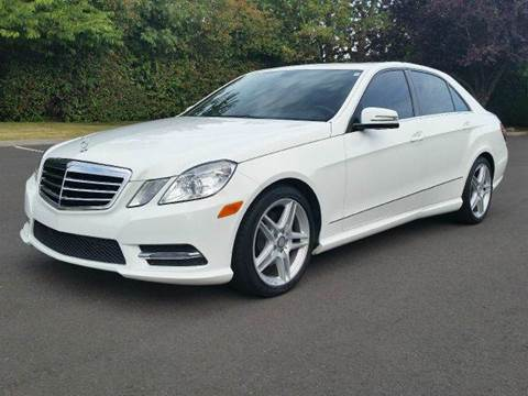 2013 Mercedes-Benz E-Class for sale at Beaverton Auto Wholesale LLC in Aloha OR