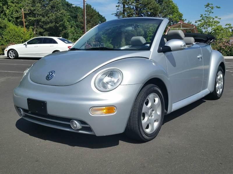 2003 Volkswagen New Beetle for sale at Beaverton Auto Wholesale LLC in Hillsboro OR