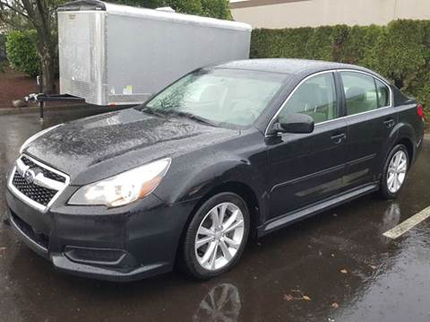 2013 Subaru Legacy for sale at Beaverton Auto Wholesale LLC in Aloha OR