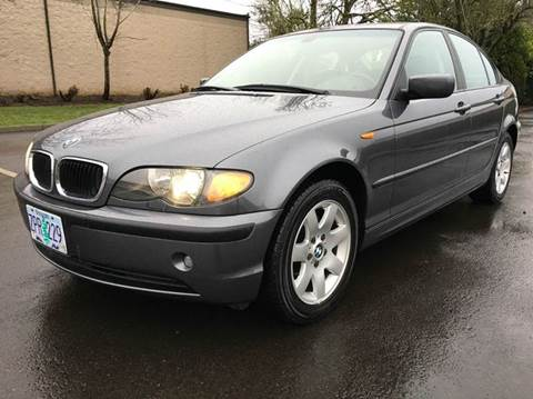 2003 BMW 3 Series for sale at Beaverton Auto Wholesale LLC in Aloha OR