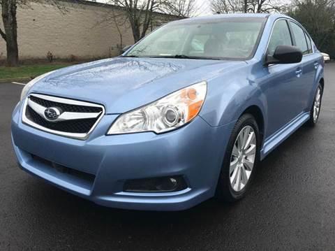 2010 Subaru Legacy for sale at Beaverton Auto Wholesale LLC in Hillsboro OR