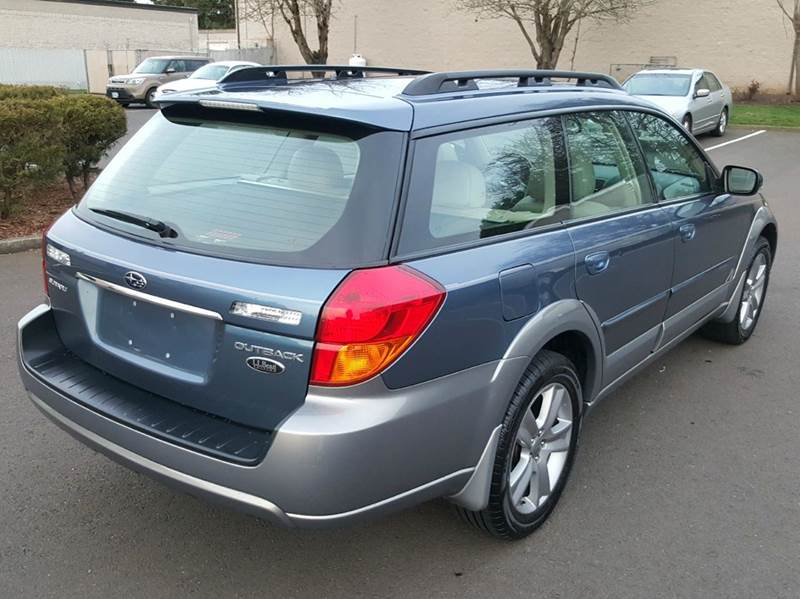 2005 subaru outback 3. 0 r l. L. Bean edition awd 4dwagon in aloha or.