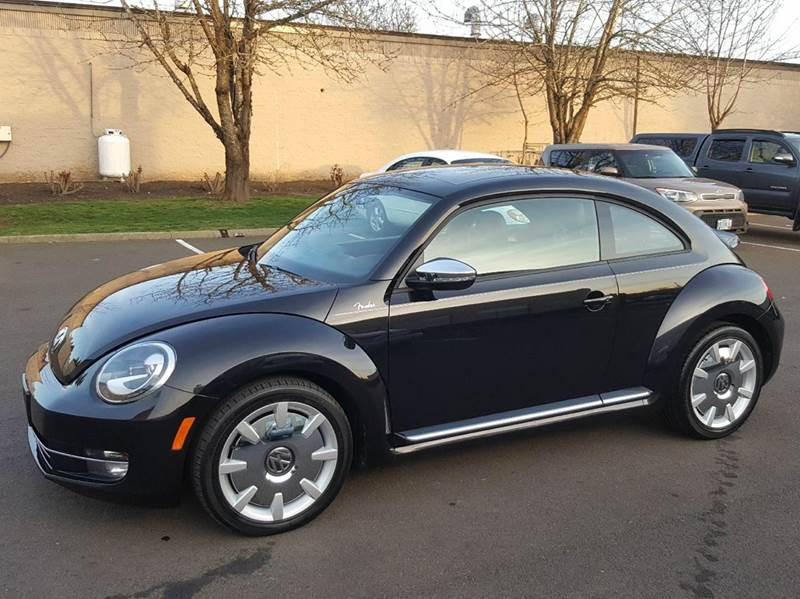 2013 Volkswagen Beetle Turbo Pzev Fender Edition 2dr Hatchback 6a