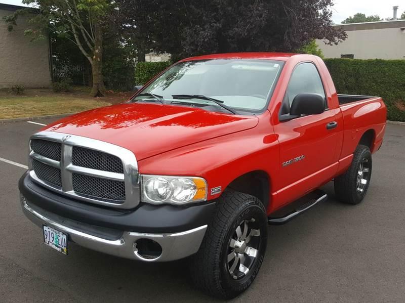2003 Dodge Ram Pickup 1500 for sale at Beaverton Auto Wholesale LLC in Hillsboro OR