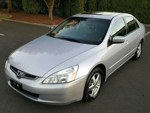 2004 Honda Accord for sale at Beaverton Auto Wholesale LLC in Aloha OR