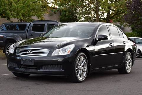 2008 Infiniti G35 for sale at Beaverton Auto Wholesale LLC in Aloha OR
