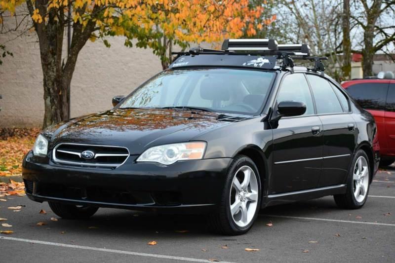 2006 Subaru Legacy 25i Special Edition Awd 4dr Sedan 25l H4 4a
