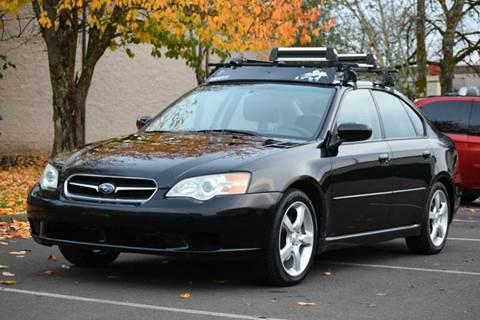 2006 Subaru Legacy for sale at Beaverton Auto Wholesale LLC in Hillsboro OR