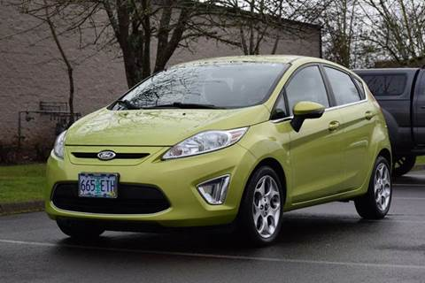 2011 Ford Fiesta for sale at Beaverton Auto Wholesale LLC in Hillsboro OR