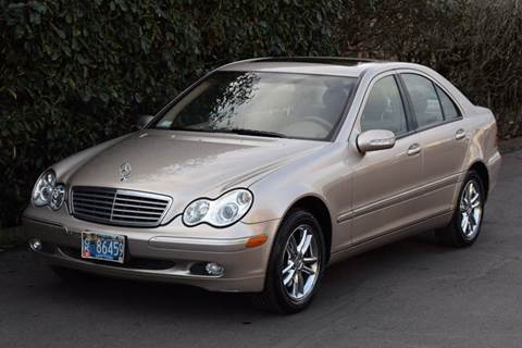 2001 Mercedes-Benz C-Class for sale at Beaverton Auto Wholesale LLC in Aloha OR