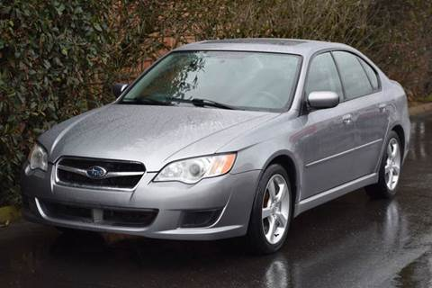 2009 Subaru Legacy for sale at Beaverton Auto Wholesale LLC in Hillsboro OR