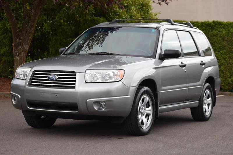 2007 Subaru Forester - Aloha, OR PORTLAND OREGON Wagon Vehicles For ...