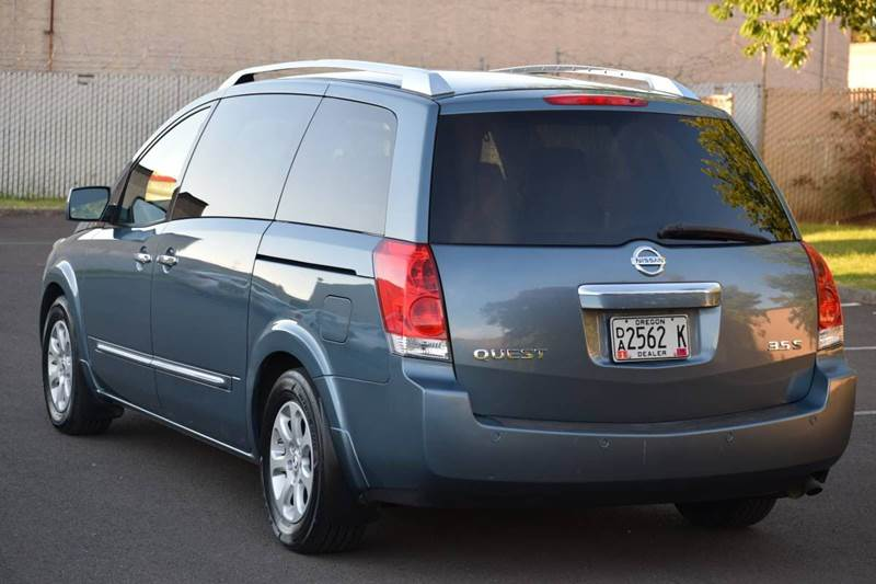 2008 Nissan Quest Aloha Or Portland Oregon Minivan Vehicles For