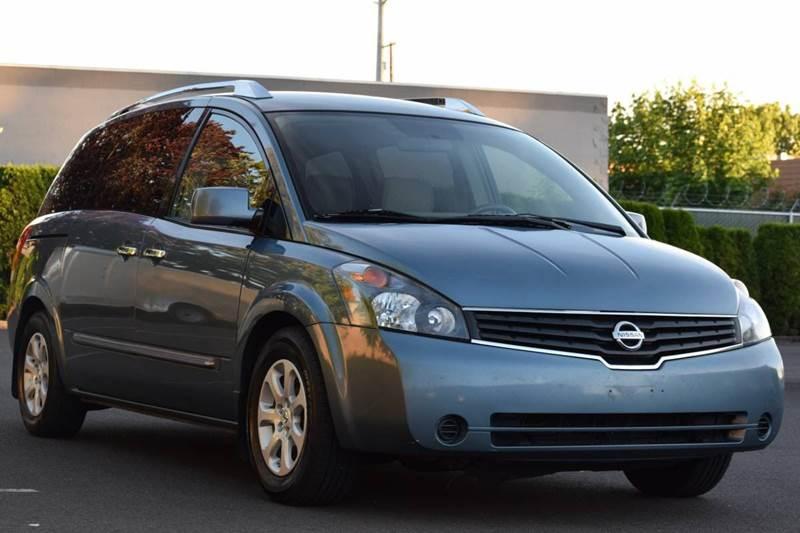 2008 Nissan Quest 35 S 4dr Mini Van In Aloha Or Beaverton Auto