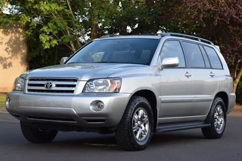 2007 Toyota Highlander for sale at Beaverton Auto Wholesale LLC in Aloha OR