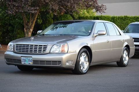 2002 Cadillac DeVille for sale at Beaverton Auto Wholesale LLC in Aloha OR