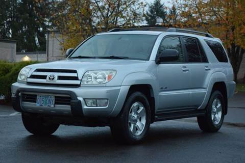 2004 Toyota 4Runner for sale at Beaverton Auto Wholesale LLC in Aloha OR