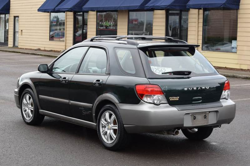 2005 Subaru Impreza Outback Sport Awd 4dr Wagon In Aloha Or