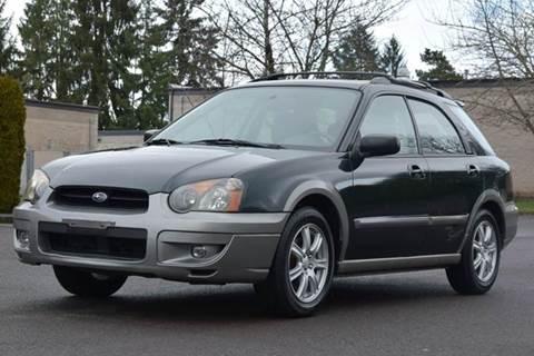 2005 Subaru Impreza for sale at Beaverton Auto Wholesale LLC in Hillsboro OR