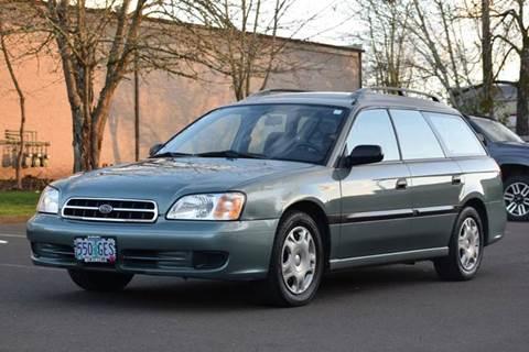 2001 Subaru Legacy for sale at Beaverton Auto Wholesale LLC in Hillsboro OR