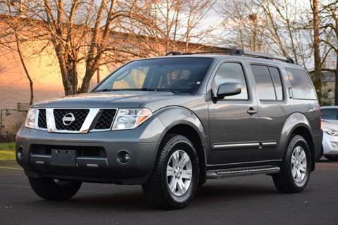 2005 Nissan Pathfinder for sale at Beaverton Auto Wholesale LLC in Aloha OR