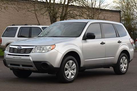 2009 Subaru Forester for sale at Beaverton Auto Wholesale LLC in Hillsboro OR