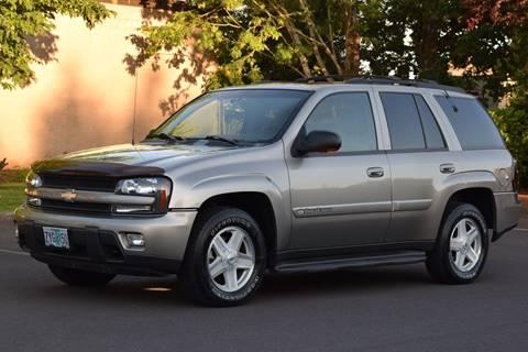2003 Chevrolet TrailBlazer for sale at Beaverton Auto Wholesale LLC in Aloha OR