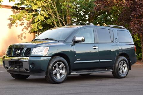 2005 Nissan Armada for sale at Beaverton Auto Wholesale LLC in Aloha OR
