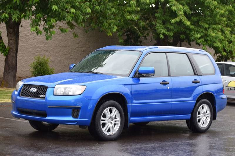 2008 Subaru Forester Awd Sports 2 5 X 4dr Wagon 5m In Aloha Or