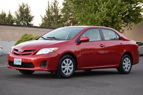 2011 Toyota Corolla for sale at Beaverton Auto Wholesale LLC in Aloha OR