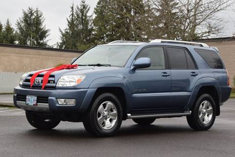 2003 Toyota 4Runner for sale at Beaverton Auto Wholesale LLC in Aloha OR