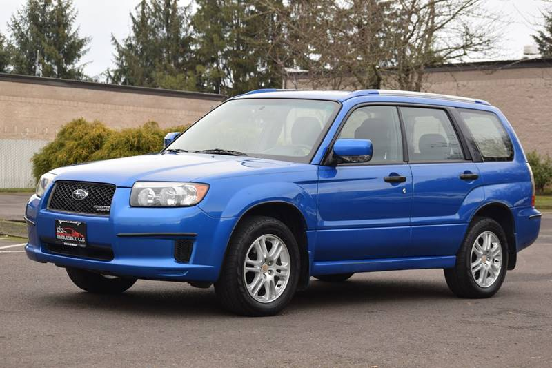 2008 Subaru Forester Awd Sports 2 5 X 4dr Wagon 4a In Aloha Or
