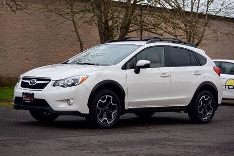 2015 Subaru XV Crosstrek for sale at Beaverton Auto Wholesale LLC in Aloha OR