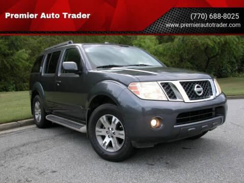 2010 Nissan Pathfinder for sale at Premier Auto Trader in Alpharetta GA
