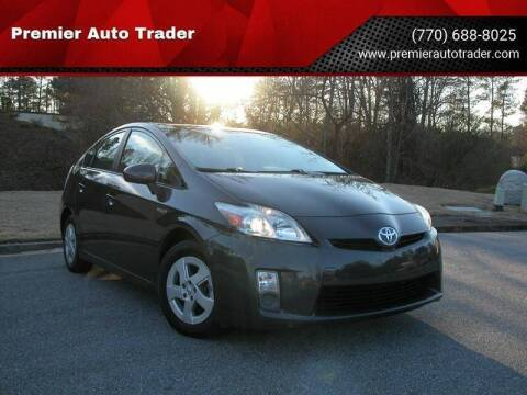 2010 Toyota Prius for sale at Premier Auto Trader in Alpharetta GA