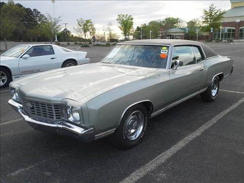 1972 Chevrolet Monte Carlo for sale at Lister Motorsports in Troutman NC