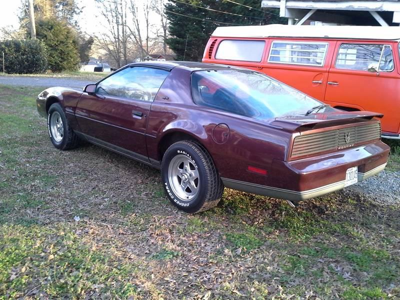 1982 Pontiac Firebird SE 2dr Hatchback - Troutman NC
