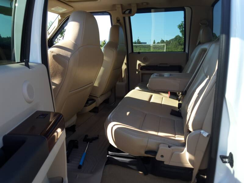 2009 Ford F-250 Super Duty 4x4 Lariat 4dr Crew Cab 8 ft. LB Pickup - Troutman NC