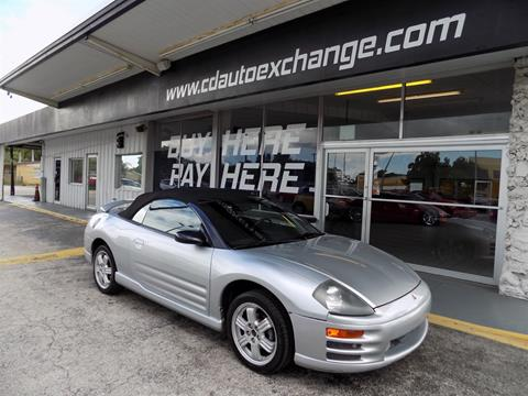 2001 Mitsubishi Eclipse Spyder for sale in Fort Myers, FL