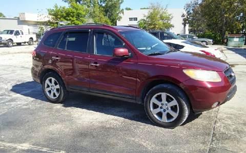 2009 Hyundai Santa Fe for sale at CAR-RIGHT AUTO SALES INC in Naples FL