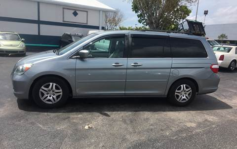 2007 Honda Odyssey for sale at CAR-RIGHT AUTO SALES INC in Naples FL