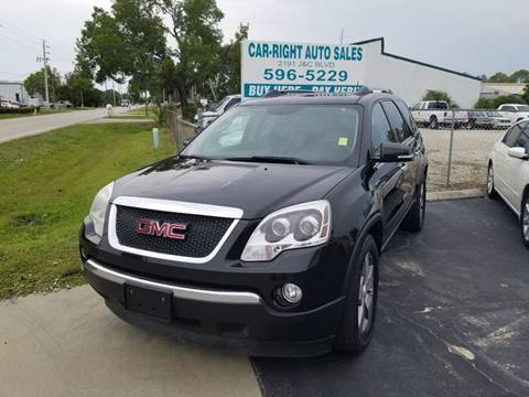 2011 GMC Acadia for sale at CAR-RIGHT AUTO SALES INC in Naples FL