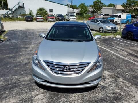 2013 Hyundai Sonata for sale at CAR-RIGHT AUTO SALES INC in Naples FL