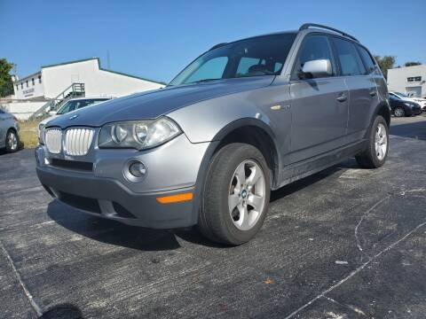 2007 BMW X3 for sale at CAR-RIGHT AUTO SALES INC in Naples FL