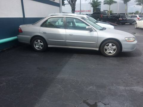 1999 Honda Accord for sale at CAR-RIGHT AUTO SALES INC in Naples FL