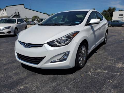 2016 Hyundai Elantra for sale at CAR-RIGHT AUTO SALES INC in Naples FL