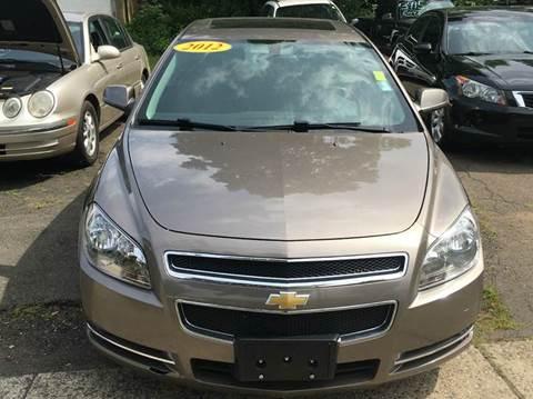 2012 Chevrolet Malibu for sale in Hamden, CT