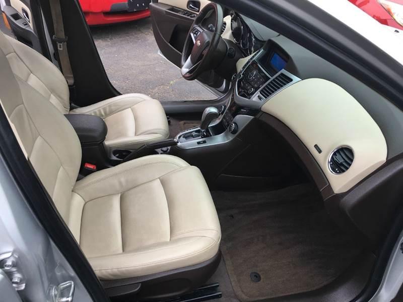 2012 Chevrolet Cruze LTZ 4dr Sedan w/1LZ - Hamden CT