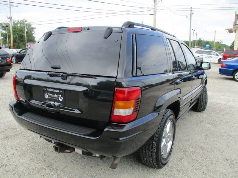 2003 Jeep Grand Cherokee Limited 4WD 4dr SUV - Newark OH