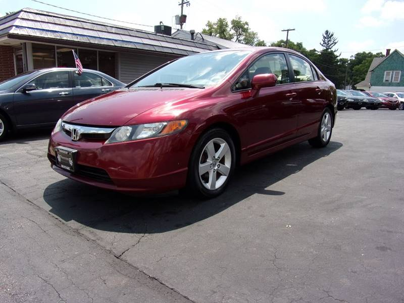 2008 Honda Civic EX L 4dr Sedan 5A W Navi